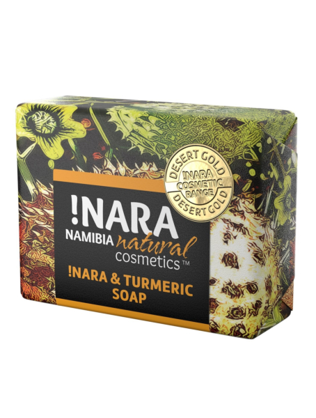 !Nara Namibia Natural Cosmetics soap seife turmeric kurkuma orange