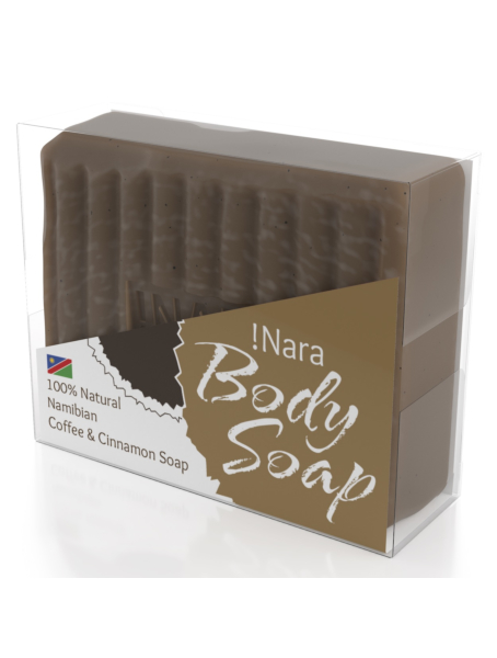 !Nara Namibia Natural Cosmetics soap seife coffee cinnamon caffee zimt